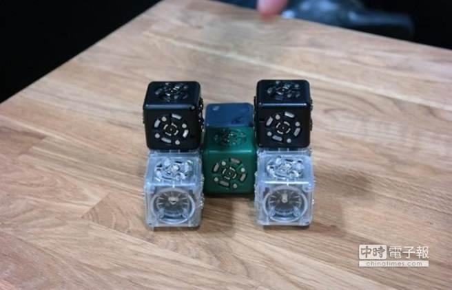 模組化機器人Moss和Cubelets。(取材自騰訊科技網)