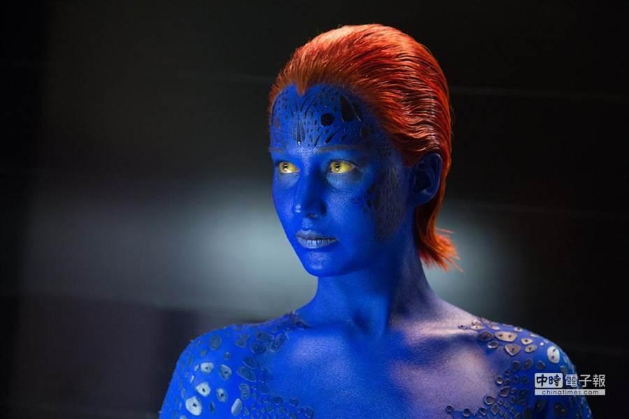 ↑珍妮佛勞倫斯飾演的魔形女在《X戰警:未來昔日》扮演舉足輕重的關鍵角色。(福斯提供)