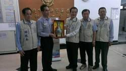 廣濟宮捐4台AED 贈中和一警分局