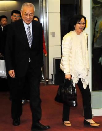 吳敦義:新副主席 有正面幫助