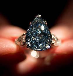 世界最大藍鑽將拍賣 估價7500萬