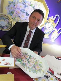 歐洲瓷器彩繪大師 來台獻技