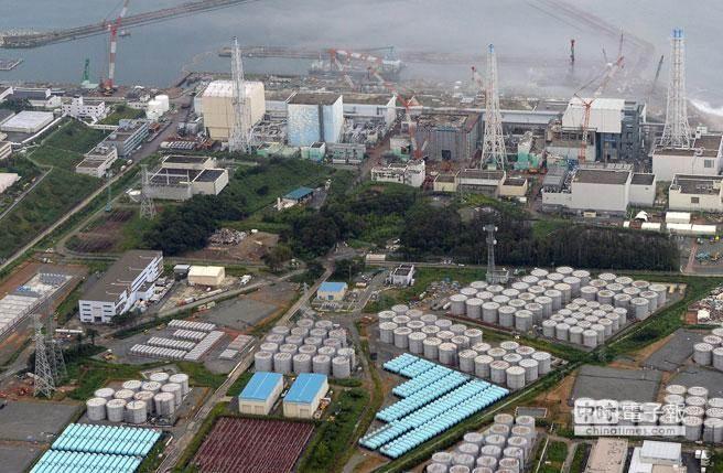 圖為日本福島第一核電廠。(美聯社資料照片)