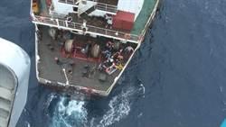 船員闌尾炎發作 空軍直升機救援