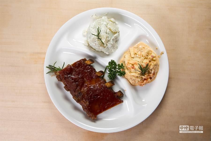 QueenS CUISINE皇后美食館可以平價點食美式菜餚(圖/業者提供)