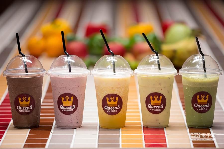 QueenS CUISINE皇后美食館引進美國紐約時尚飲品供消費者選擇(圖/業者提供)