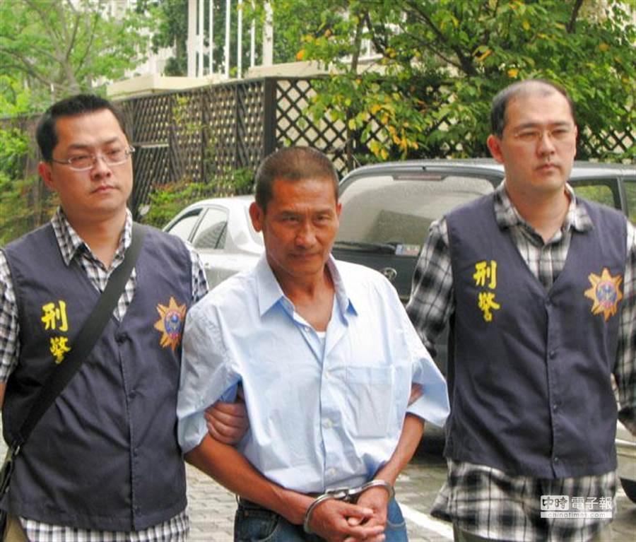 民國88年2月間在印度洋殺害15名大陸漁工的金慶12號船長龔泰安。(本報資料照片,蕭承訓攝)