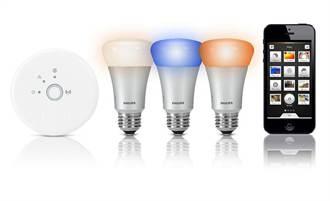 飛利浦在台銷售HUE個人連網智慧照明系統