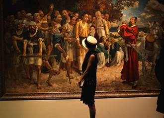 香港畫廊舉辦法國華裔現代繪畫大師聯展 徐悲鴻林風眠等人作品悉數登場