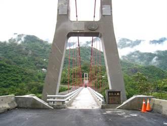 吊橋取代流籠 大武汛期不再成孤島