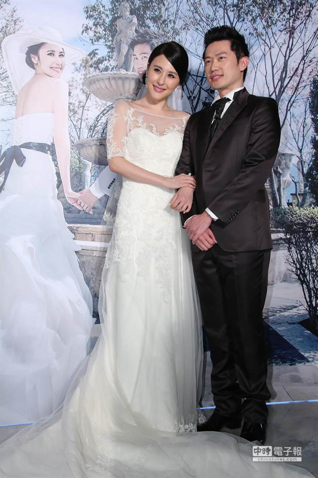 穆熙妍和老公史天威婚禮。(羅永銘攝)