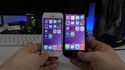 搶先體驗!4.7吋iPhone 6執行iOS 7影片  感覺很不賴