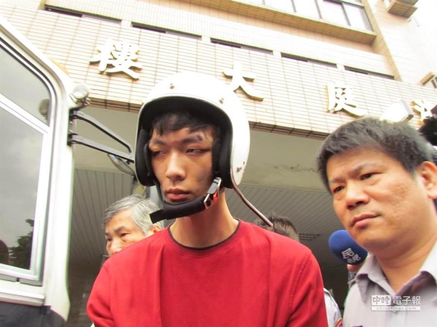 男PO網嗆:要比鄭捷(如圖)更狠,隔天遭刑警逮捕,後判二月,獲緩刑。(中時資料照)