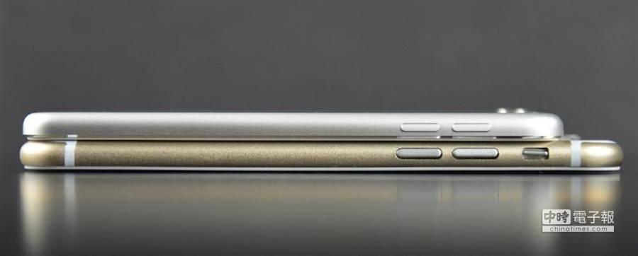 iPhone 6對比第五代 iPod touch。(圖/sonnydickson.com)