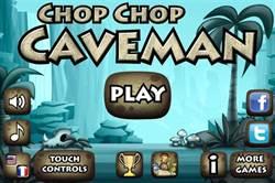 [限免]「Chop Chop Caveman」原始人橫向捲軸動作遊戲!