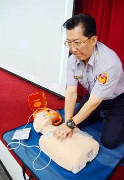 避免憾事 安養院老闆捐AED