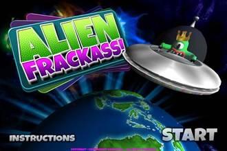 [限免]外星人進攻?!「Alien Frackass!」敲磚塊保護地球!