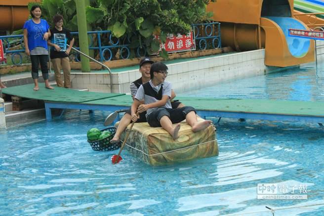 夏天到,屏東潮州8大樂園戲水區開放。(業者提供)
