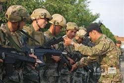 蘭州軍區玩生存遊戲 代替演習