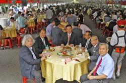 開南大學畢典 席開380桌宴請畢業生
