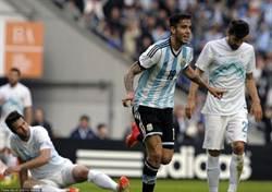 梅西破荒新卡卡首球 阿根廷2-0兩連勝
