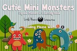 [限免]可愛怪獸來了~ 培養孩子辨識數字的「Cutie Mini Monsters」!