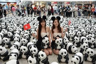 1600只紙糊大熊貓登陸香港
