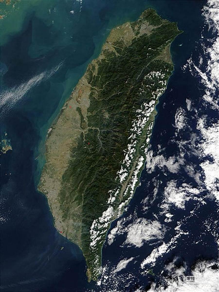 美麗寶島台灣(取自維基百科)