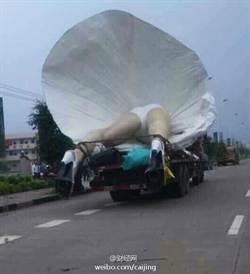 廣西巨型夢露雕像被拆了