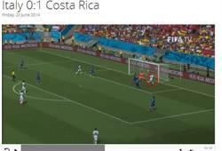 哥斯大黎加贏義大利 奪2連勝