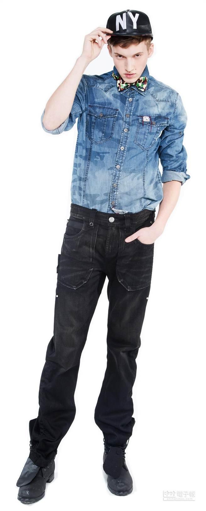 TOUGH Jeansmith推出捐格紋或花襯衫,即可以4折價購買春夏新款襯衫活動。(TOUGH Jeansmith提供)