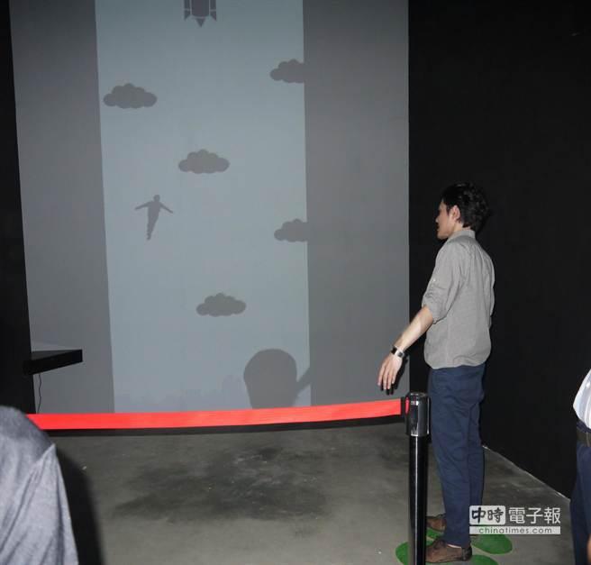 小叮噹科學主題樂園結合中研院技術,4日起推出互動科學新設施「歡樂科學館─DO體感探索」。(陳育賢攝)