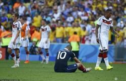 德國1:0法國晉級四強 胡莫斯頭球建功