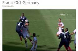 胡莫斯頭槌建功 德國1:0力退法國