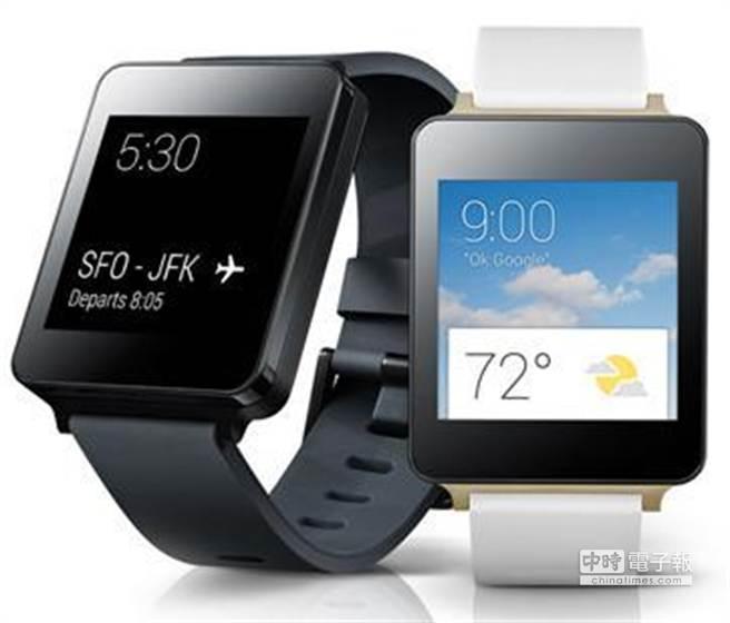 三星及LG皆推出搭載高通處理器的智慧型手表。圖/業者提供