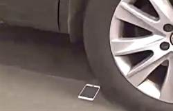 iPhone 6最新暴力測試!十大酷刑只有越野車才能碾碎螢幕