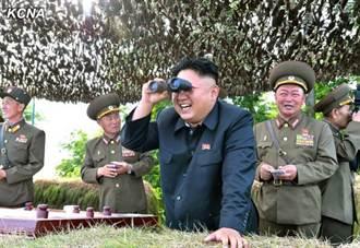 北韓朝東部海界射百枚炮彈