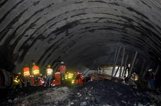 雲南富寧隧道坍塌事故救援受阻被困14人