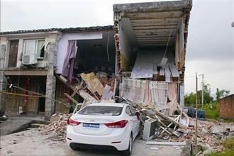 女兒回娘家 撞塌兩間房