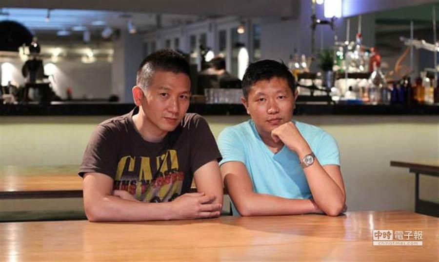 《冰毒》導演趙德胤(左)。(時周提供)