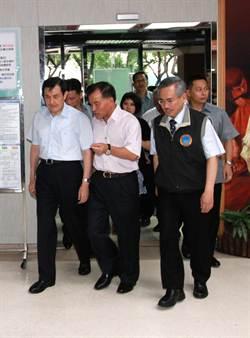 馬英九總統探望復興航空事故傷患