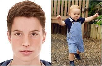 設計師操刀 喬治小王子18歲將是大帥哥