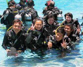 恆春工商 發展特色潛水課程