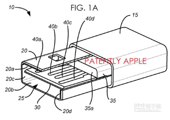 蘋果最新專利顯示未來Lightning充電孔將能兼容microUSB。(圖/驅動之家)