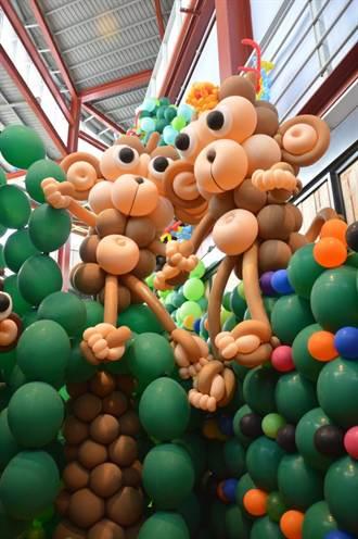新竹世博館氣球展 推出叢林奇遇記