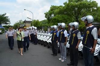 雲林縣添購178輛警用機車