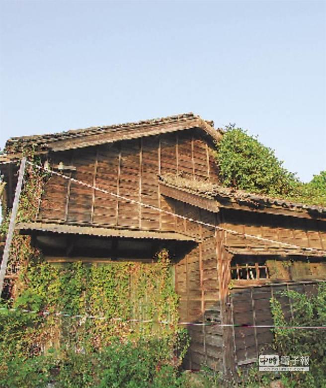 台鐵日式宿舍。(邱明憲提供)