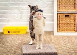 不給自由就吃大便 普丁、金正恩變貓砂盆