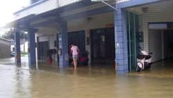公親寮淹水36小時未退 在地籲整治