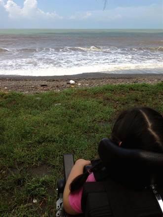 揪心!遊墾丁 珣珣:媽媽那是海嗎